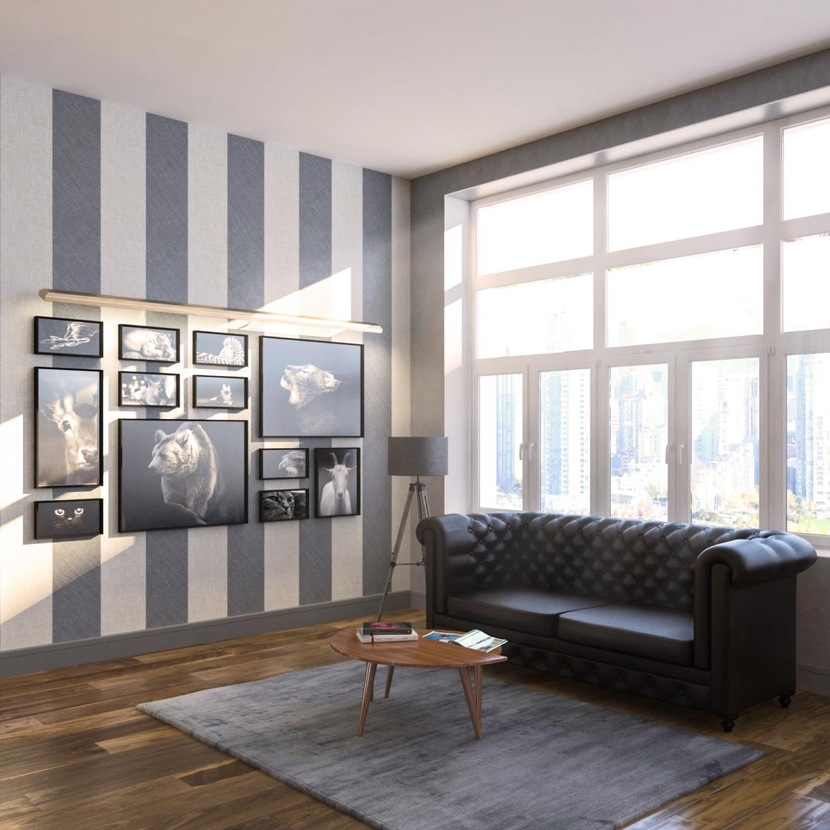 Interior, Office space Visualization